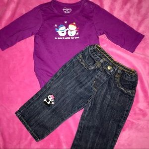 baby girls outfit size 3-6 Months